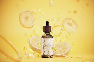 Schöne Haut innerhalb kurzer Zeit? Nanoil Gesichtsserum mit Vitamin C überrascht Sie!