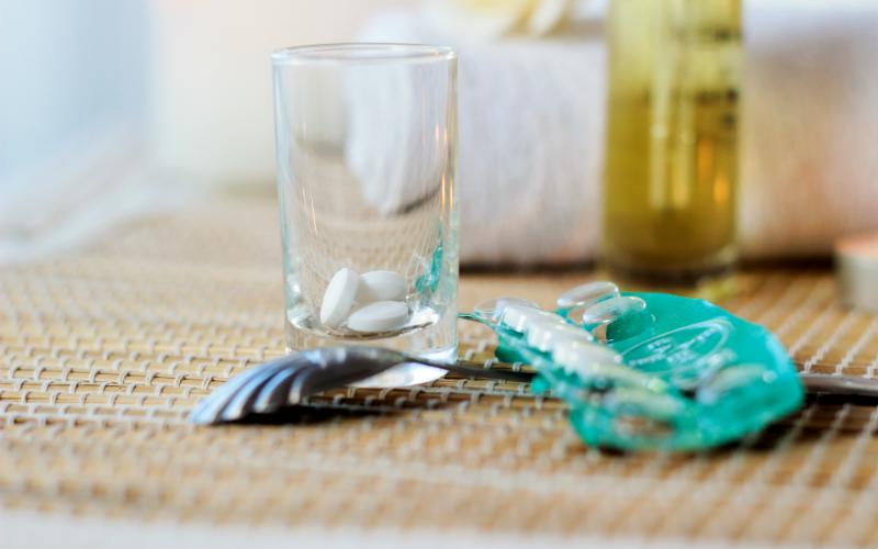 Hast du Aspirin zu Hause? Verwende es statt Kosmetika!