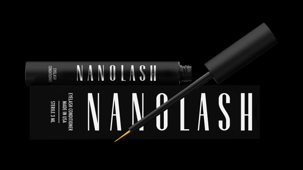 Nanolash, wunderbare Nahrung für Wimpern und Augenbrauen