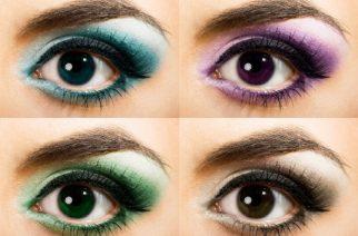 Wie wählen Sie den angemessenen Lidschatten? Lidschatten an die Haut- und Augenfarbe anpassen