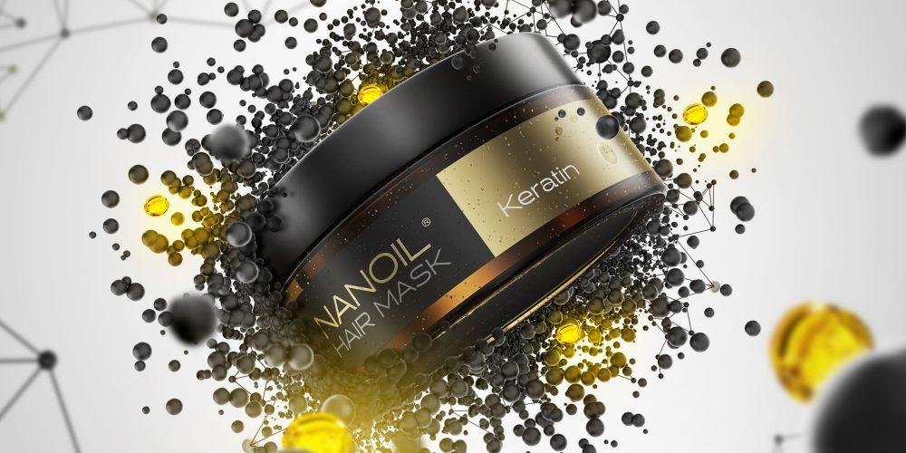 Strapazierte Haare? Diese Maske stärkt sie! Lernen Sie die Nanoil Haarmaske mit Keratin kennen!